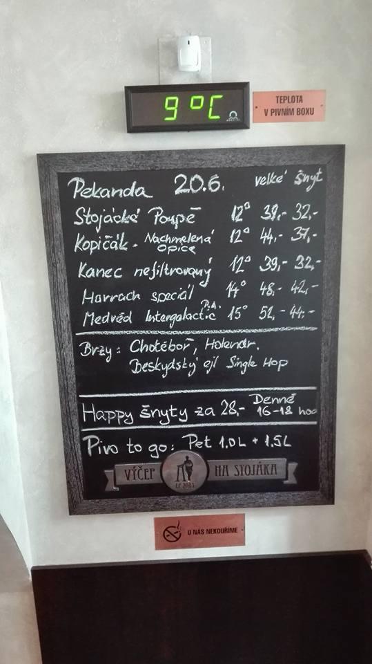 Výčep Na stojáka Pekanda 20.06.2016