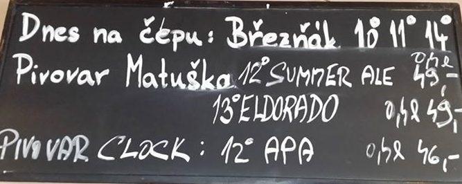Kovadlina U lázní 31.07.2017