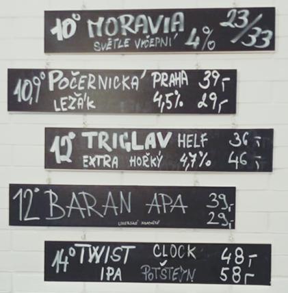 Pivnice Dobré pivo 01.06.2018